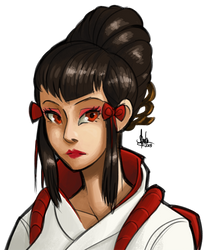 Kazumi Mishima by TheArtrix
