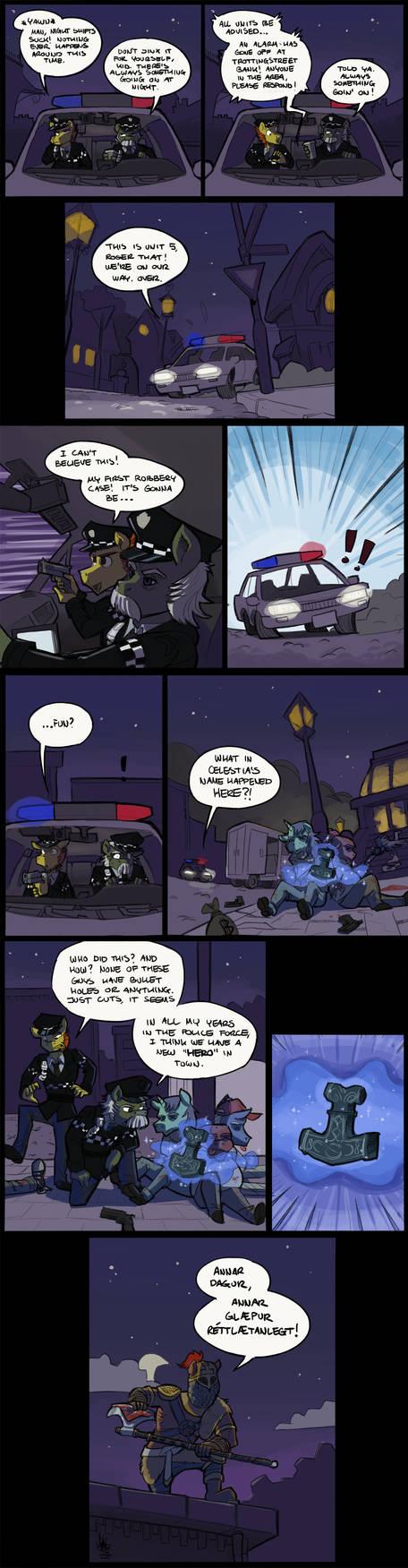 [Commission] Logrekkr by TheArtrix