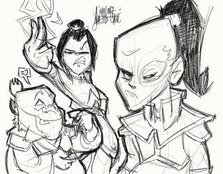 Scrap - Avatar doodles 3 by TheArtrix
