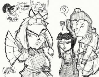 Scrap - Avatar doodles 4 by TheArtrix