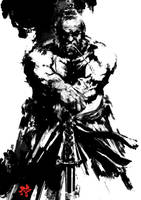 Samurai Spirit Sumi 6 by derylbraun