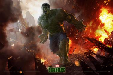 Hulk by derylbraun