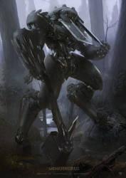Minotaurus by derylbraun