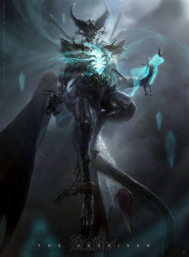 Malkus - the deceiver by derylbraun