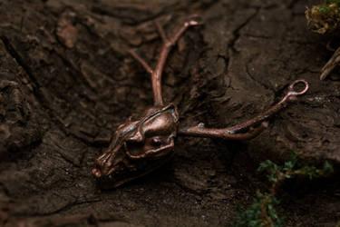 Wendigo pendant by Curionomicon