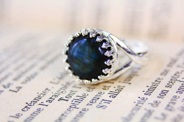 Labradorite ring by Curionomicon