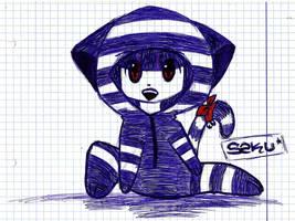 Chibi neko-costume by SKY-SaKuYa-SKY