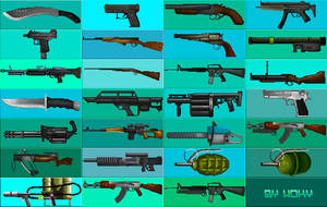 Weapon set by HokyBriget
