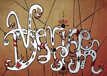 Circus freak typography by Verine