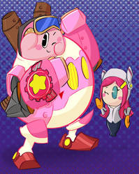Kirby: Planet Robobot! by MixedUpMagpie