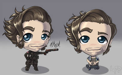Pace Chibis by FireCatRich