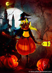 Halloween Witch finale by Nino-Yokai