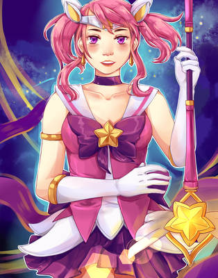 Star Guardian Lux by Uncrai