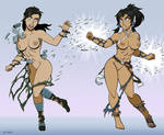 Kuvira Vs Korra By Curtsibling by Lahar-88