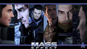 Mass Effect Wallpaper - Kaidan Alenko by Ainyan42