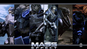 Mass Effect Wallpaper - Garrus Vakarian by Ainyan42