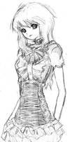 Victorian Maiden by flyingscissors