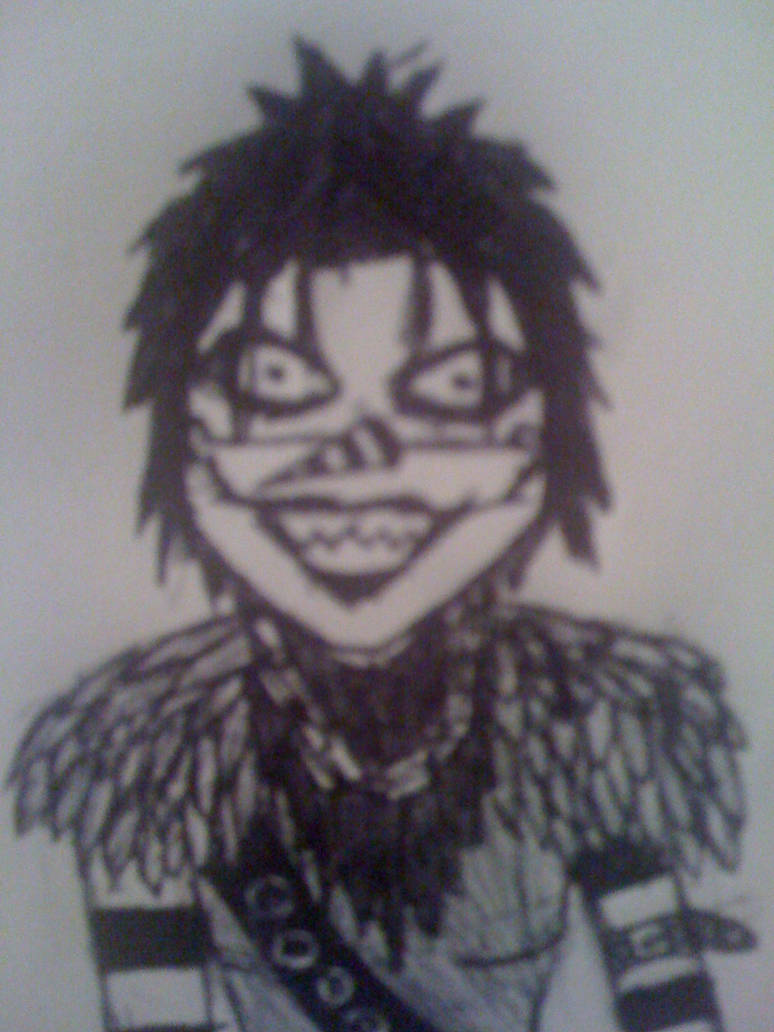 Laughing Jack costume sketch by SnuffBomb