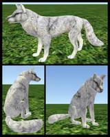 CoyoteMange Fur Texture by FlyWheel68