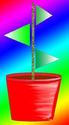 plant pot by rockstar-kat666