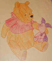 pooh and piglet by rockstar-kat666