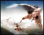 Sky Riders by IronHawk-R