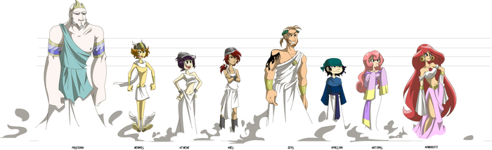 Lavi- The Greek Gods by s0s2