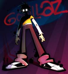 Gorillaz by s0s2