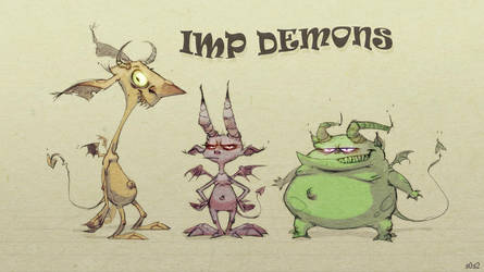 Imp Demons by s0s2