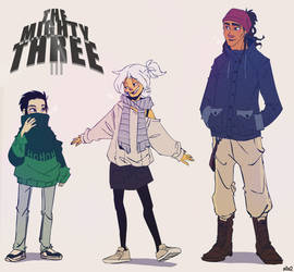 TMT winter outfits by s0s2