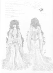 Bridal Gown Concept by itsufer