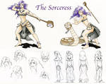The Sorceress by Timber-Wolf-Spirit