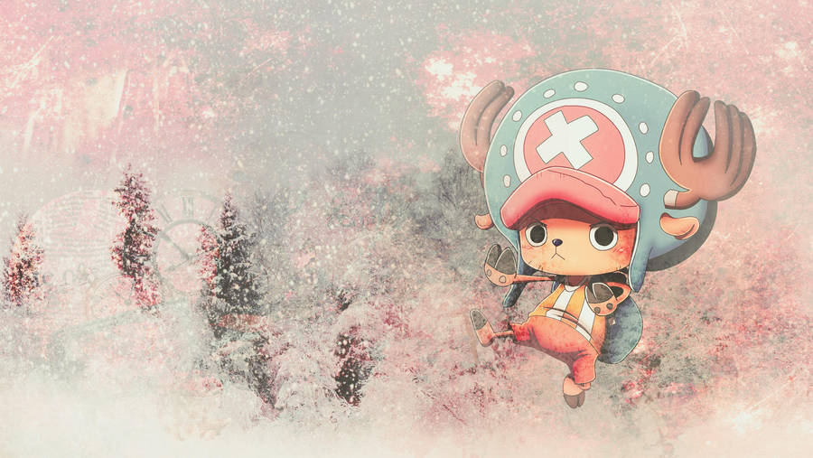 One Piece Wallpaper Set Tony Tony Chopper By Mondem On Deviantart