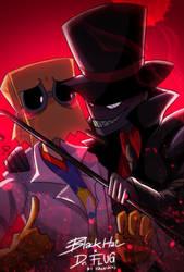 Villainous :: Black Hat x Dr. Flug by Khwan123-and-ninjago
