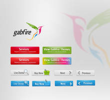 gabfire UI Desing by 11thagency