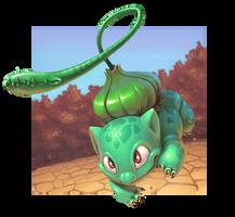 Bulbasaur used Vine Whip by Twarda8