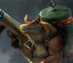 Dingodile by Twarda8