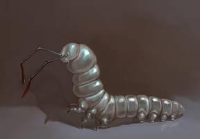 Larva from a dream by Twarda8