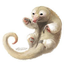 Silky Anteater by Twarda8