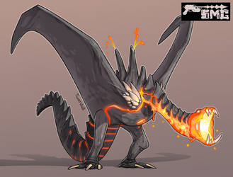 Volcano Dragon by Twarda8