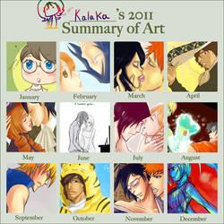 Summary of my Year 2011 by kala-k