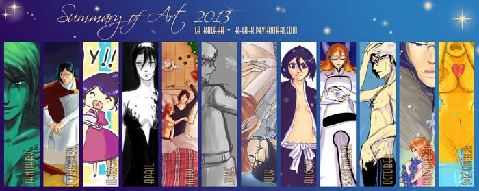 kALAka 2013 Art Summary by kala-k
