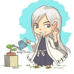 Ukitake Jyuushirou by kala-k