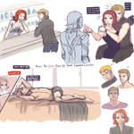 Clintasha Sketchy Time! by kala-k