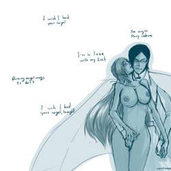 i wish i have an angel by kala-k
