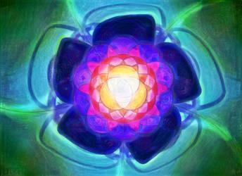Mandala Flower Rainbow by SnoepGames
