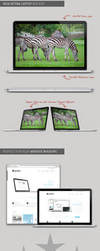 New Macbook Pro with Retina .PSD Mockup by SupremeThemes