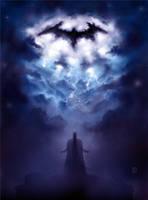 A Storm Approaches - The Dark Knight fan art by Ben-Wilsonham