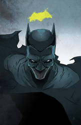Batman Cowl Design by Ben-Wilsonham