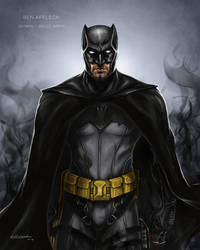 Ben Affleck Batman concept by Ben-Wilsonham